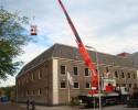 Herstel pannen dak bij hotel de Librije in Zwolle