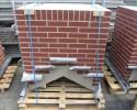Prefab schoorsteen licht gewicht met steenstrips