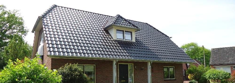 Dakrenovatie bungalow Luttenberg