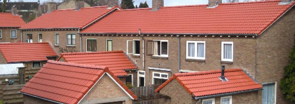 Nieuwe dakpannen seriematig
